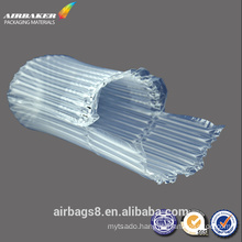 Low price inflatable air bubble plastic packing bag for milk powder can